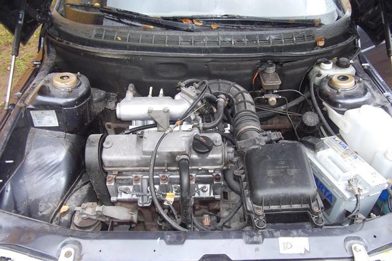 мотор 8-клапанного инжекторного ВАЗ-2111