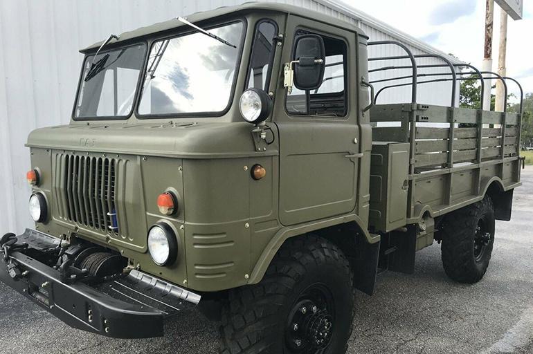 новый ГАЗ-66