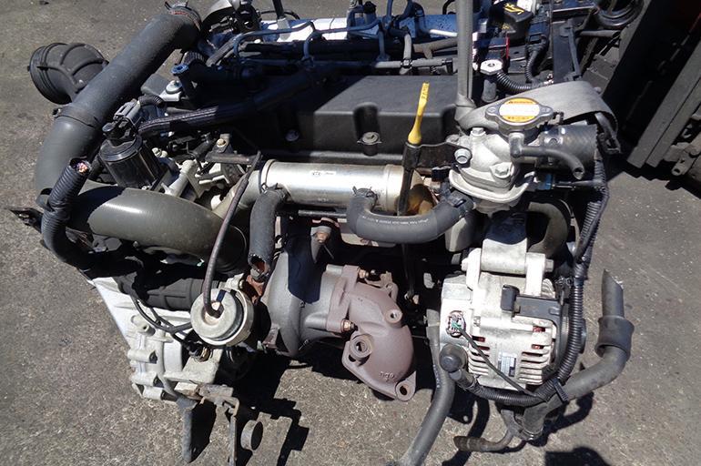 Дизельный мотор Кia Rio
