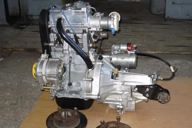 Мотор-карбюратор