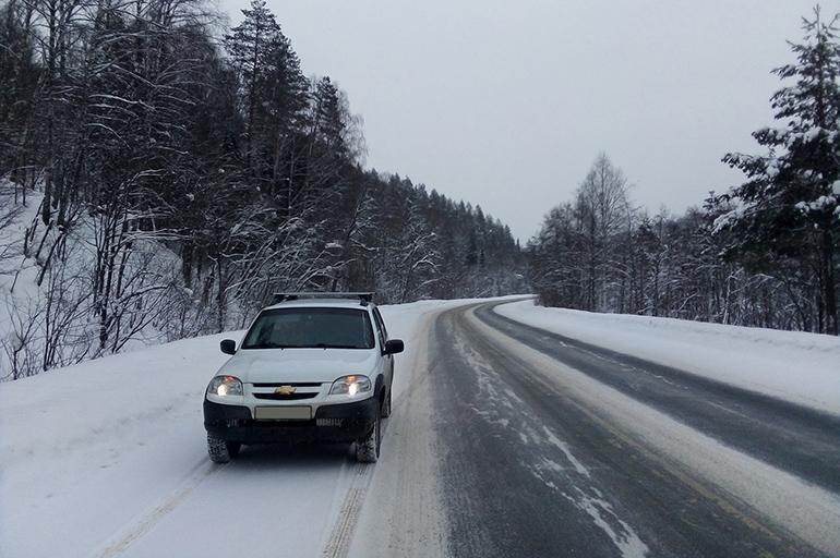 расход топлива Нива Шевроле на зимней трассе
