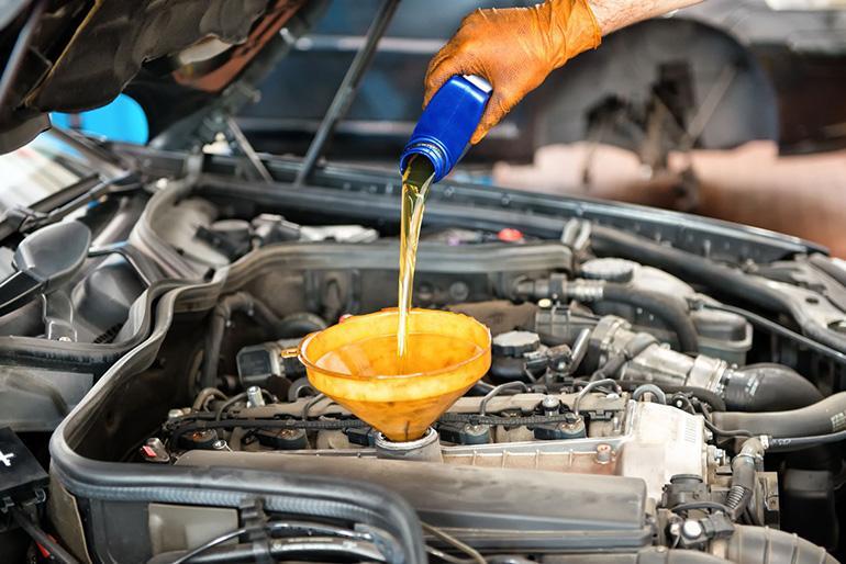 Несоответствие моторного масла