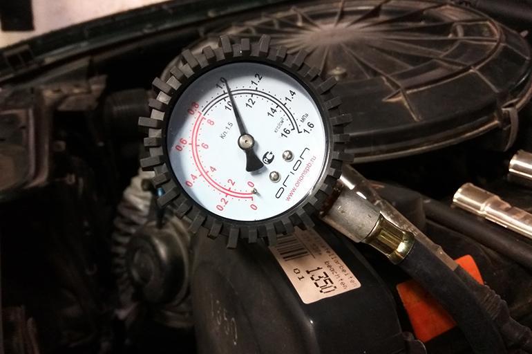 Проверка компресии в цилиндрах Daewoo Matiz