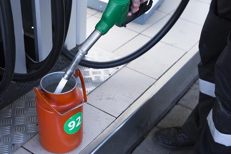 Затраты бензина