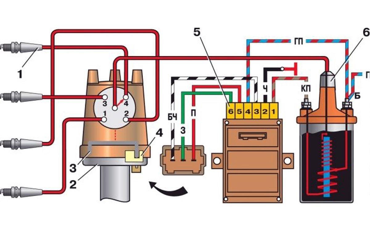 Бесконтактная система зажигания