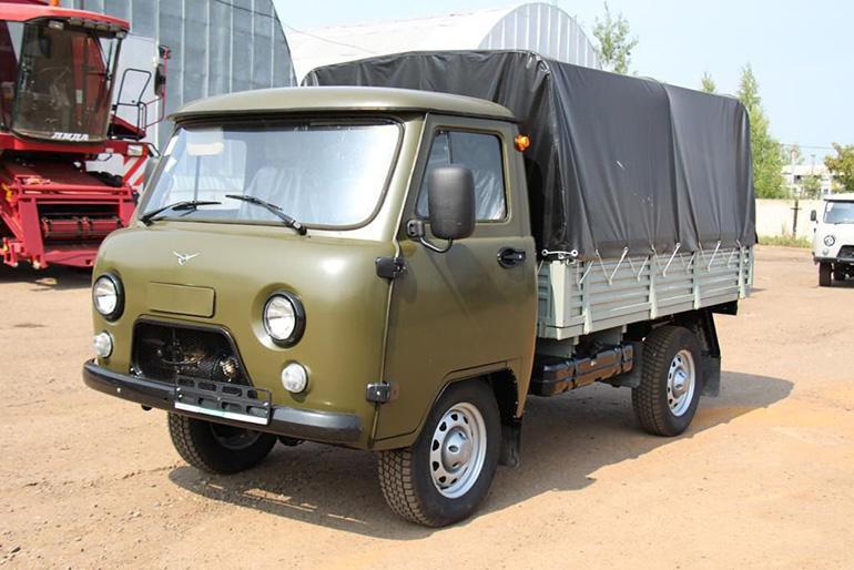 Уаз Буханка тентованный фургон