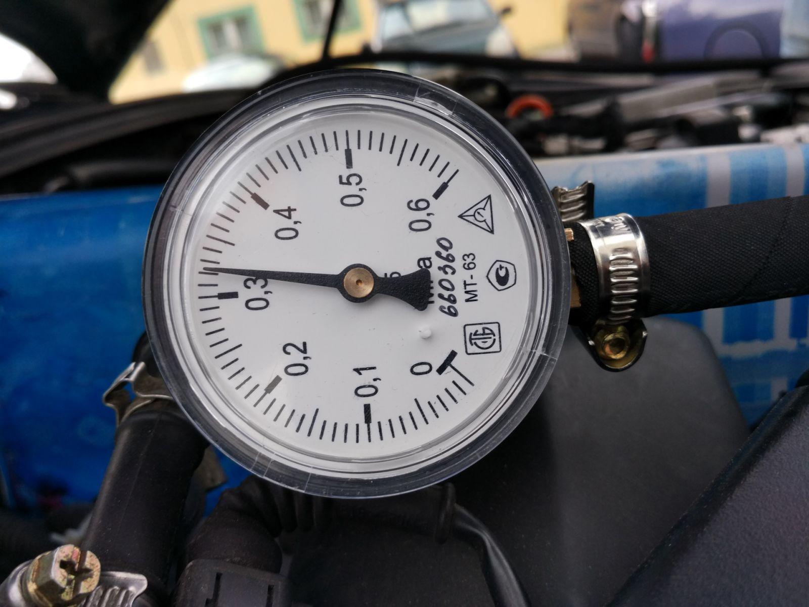 Низкое давление топлива