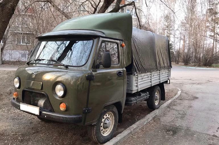 автомобиль УАЗ-3303