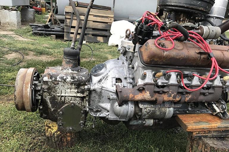 Двигатель и ходовая часть ГАЗ-53