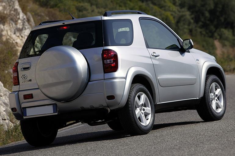 Тойота Рав 4 на бензине